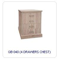 GB 040 (4 DRAWERS CHEST)
